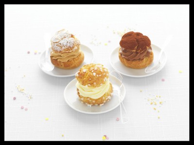 Mini-Choux cr�me mousseline