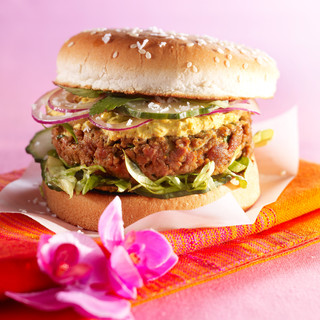 Hamburger à l'indienne