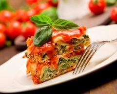 Lasagne aux épinards et à la ricotta