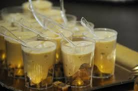 Verrines de foie gras aux châtaignes