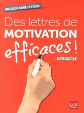 Des lettres de motivation efficaces!