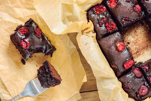 Brownie aux prunes