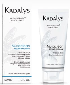 Kadalys Peeling Exfoliant Bio Musaclean Les essentiels
