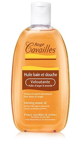 huile bain et douche Veloutée